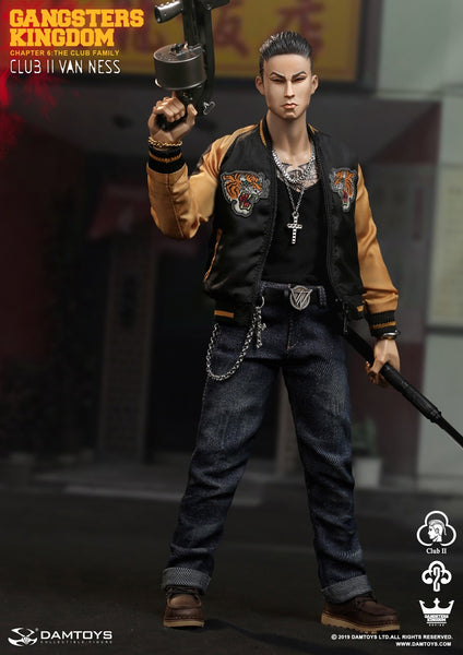 1/6 Scale Gangsters Kingdom - Club 2 Van Ness Figure by DamToys