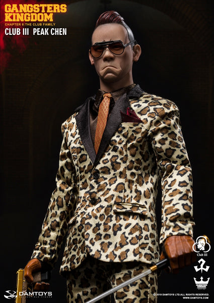 1/6 Scale Gangsters Kingdom Club 3 Peak Chen Figure by DamToys