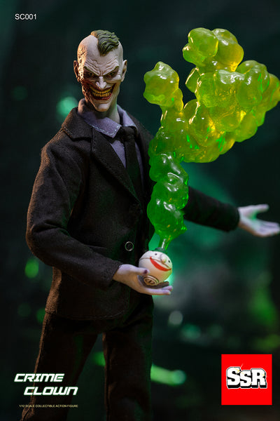 1/12 Scale Crime Clown Figure (Deluxe Version) by SSR