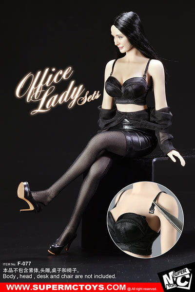 1/6 Scale Office Lady Outfit Set by SuperMC Toys