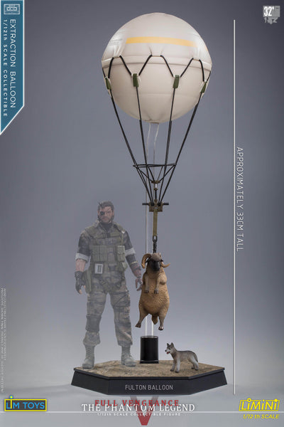 1/12 Scale Extraction Balloon with Sheep and Dog by LIMTOYS LiMiNi