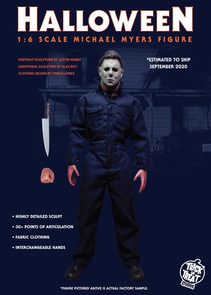 Halloween 2020 Michael Myers Trick Or Treat Trick or Treat Studios Halloween   Michael Myers 1/6 Scale Figure