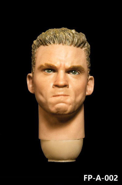 1/6 Scale Male Head Sculpt (FP-A-002) by FacePool