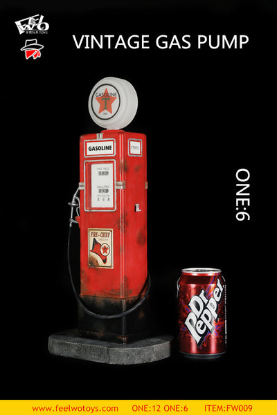 1/6 Scale Vintage Gas Pump by FWToys