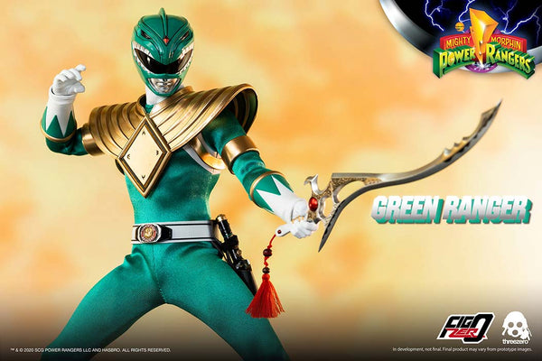 1/6 Scale Mighty Morphin Power Rangers - Green Ranger Figure by Threezero
