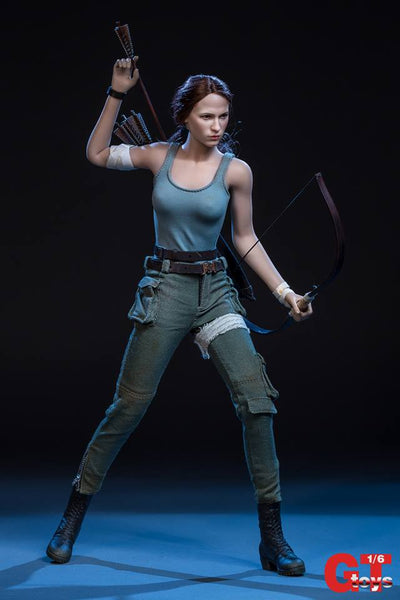 1/6 Scale Lara the Raider Head Sculpt & Outfit Set by GT Toys