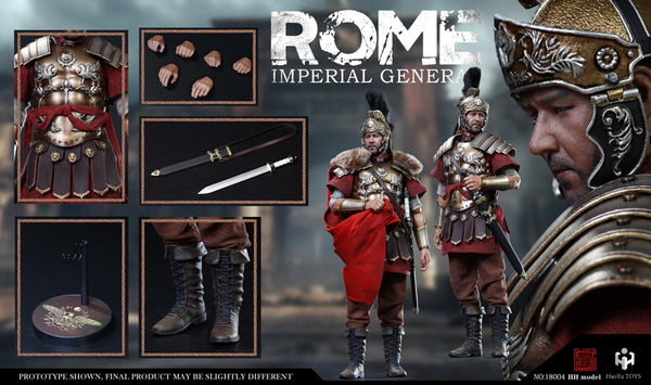 1/6 Scale Rome Imperial General Figure by HY Toys