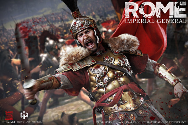 1/6 Scale Rome Imperial General Figure (Battlefield Special Edition) by HY Toys