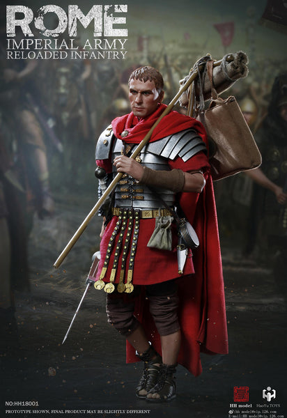 1/6 Scale Rome Imperial Army Reloaded Infantry Figure by HY Toys