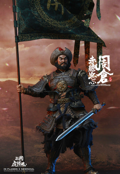 1/6 Scale Soul Of Tiger Generals Zhou Cang Figure by In Flames Toys X Newsoul Toys