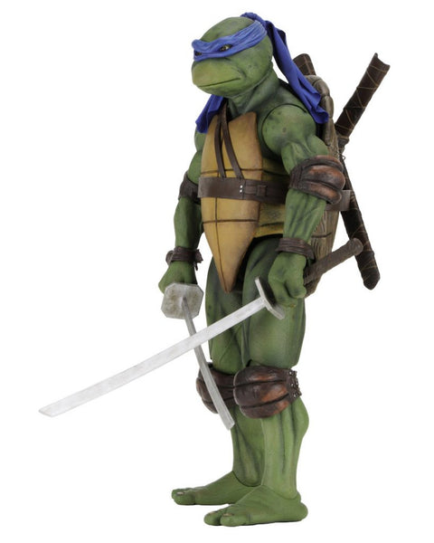 1/4 Scale Teenage Mutant Ninja Turtles (1990 Movie) Leonardo Figure by NECA