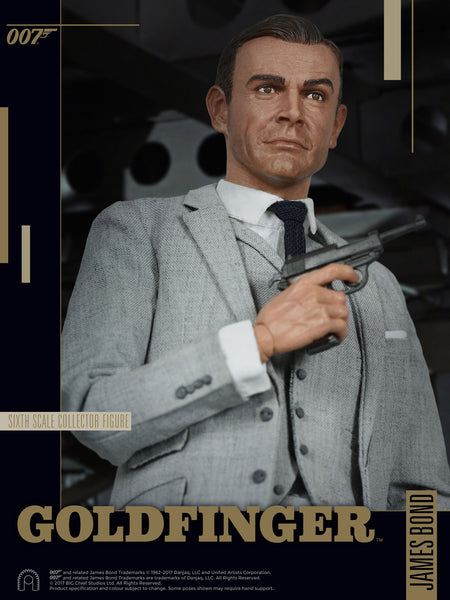 1/6 Scale James Bond Goldfinger Figure by Big Chief Studios