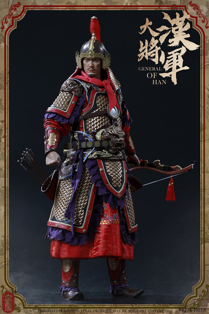 1/6 Scale General of Han Figure (Standard Version) by KLG