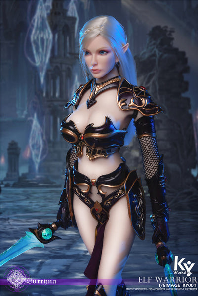 1/6 Scale Elf Warrior - Burryna Figure (Standard Version) by KY Workshop