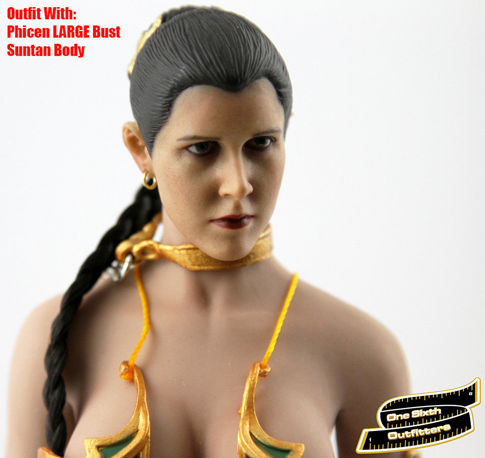 1:6 The Enslaved Alien Princess Female Figure Outfit Accessory for Phicen Body