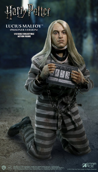 1/6 Scale Harry Potter and the Order of Phoenix - Lucius Malfoy (Prisoner Version) Figure by Star Ace Toys