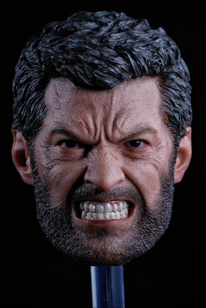 1/6 Scale Angry Logan Head Sculpt by Eleven