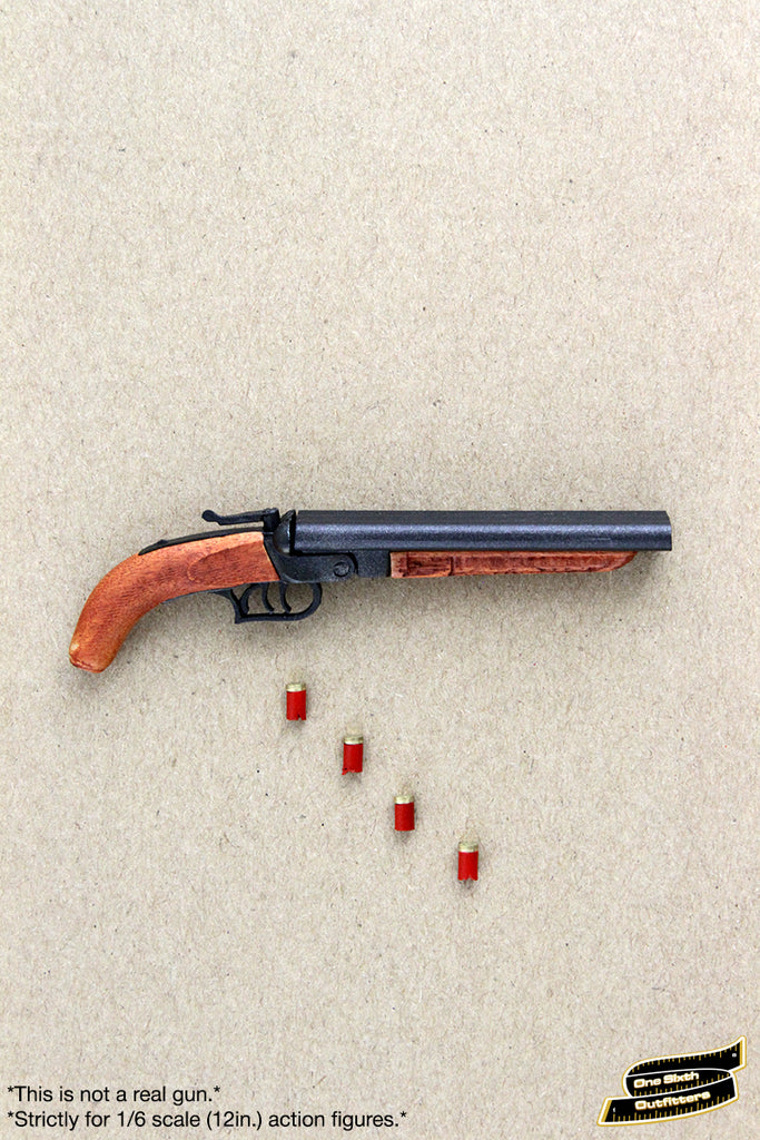 1/6 Scale Short Triple Barrel Shotgun