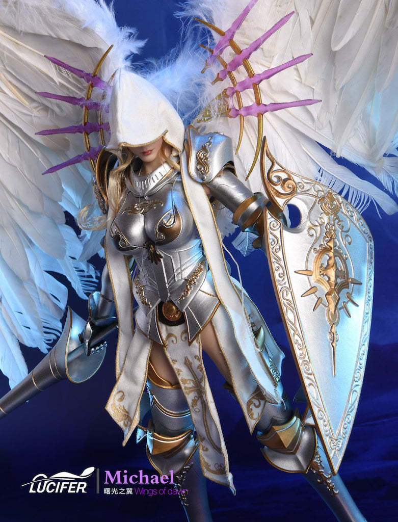 """LUCIFER 1//6 Scale Wings Of Dawn Michael Big Angel Body Armor for 12/"""" Figure"""