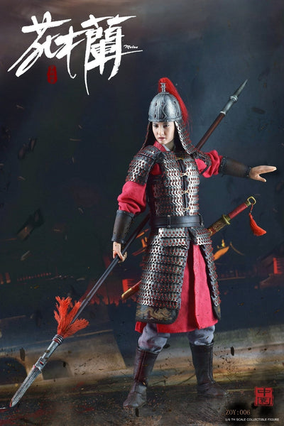 1/6 Scale General Xiaolie-Hua Mulan Figure (Deluxe Version) by ZOY Toys