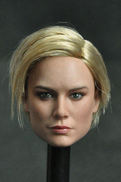 1/6 Scale Danvers Head Sculpt (3 Hairstyles) by Manco Toys