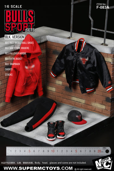 1/6 Scale Bulls Sportswear Set (2 Colors) by Super MC Toys