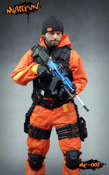 1/6 Scale Quarantine Zone Agent Set by MultiFUN