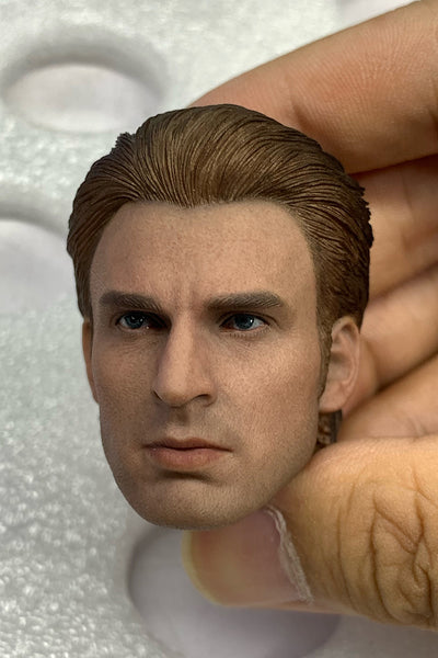 1/6 Scale Captain Steve Head Sculpt by Elite Toys