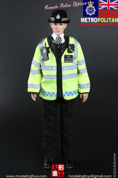 1/6 Scale British Metropolitan Police Service Officer Figure by Modeling Toys