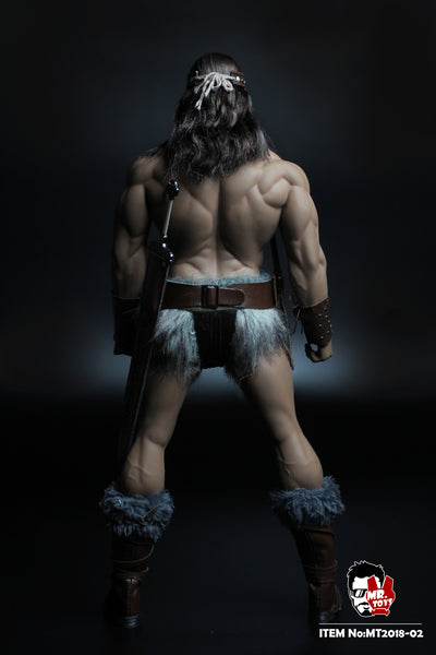 1/6 Scale Barbarian Head Sculpt & Outfit Set by Mr. Toys
