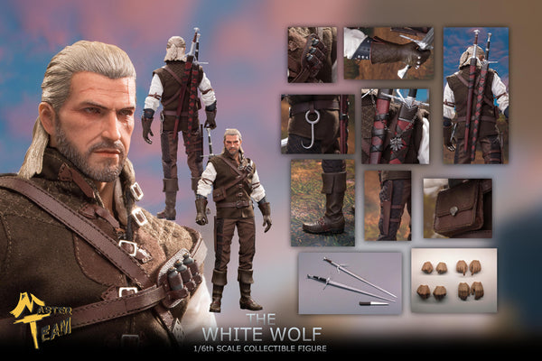 1/6 Scale The White Wolf Geralt Figure by Master Team