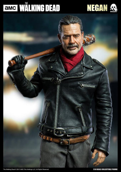 1/6 Scale AMC The Walking Dead Negan Figure by Threezero