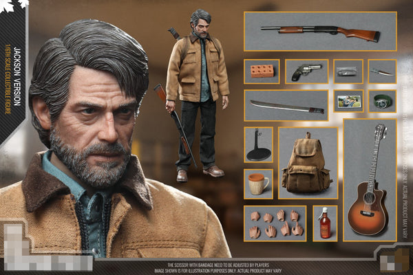 1/6 Scale Old Man & Kiddo Figure Bundle by CC Toys