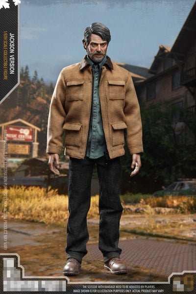 1/6 Scale Old Man Figure by CC Toys