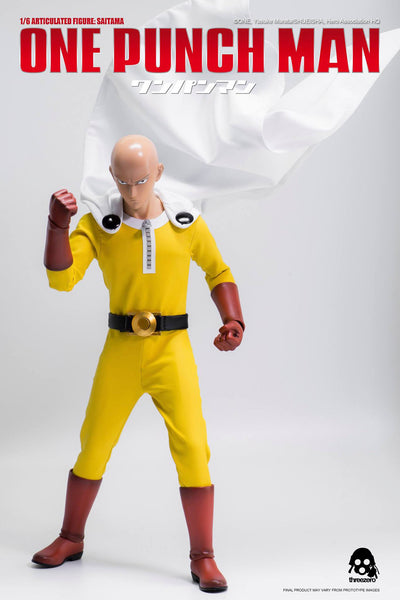 1/6 Scale One Punch Man Saitama Figure by Threezero