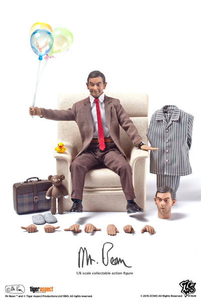 1/6 Scale Mr. Bean Figure by ZC World