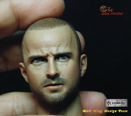 1/6 Scale Jesse Headsculpt by Wolfking