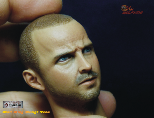 1/6 Scale Jesse Head Sculpt by Wolfking