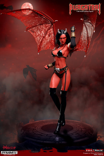 1/6 Scale Purgatori Figure by TBLeague