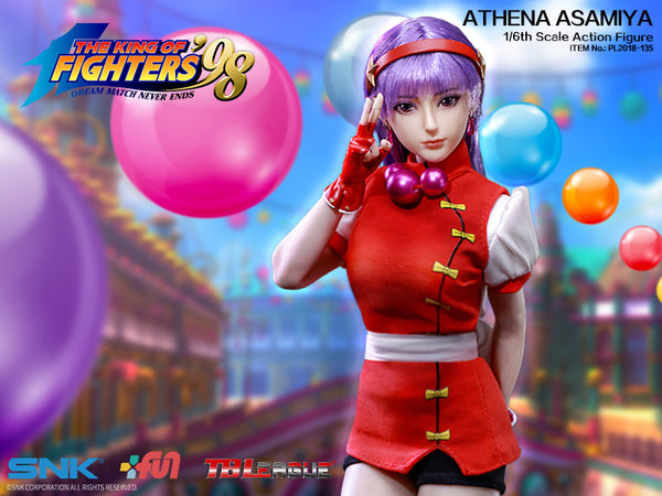 1/6 Scale The King of Fighters - Athena Asamiya Figure by TBLeague