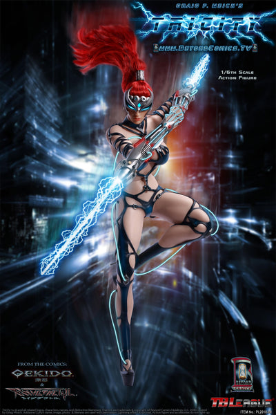 1/6 Scale Tricity, Goddess of Lightning Figure by TBLeague