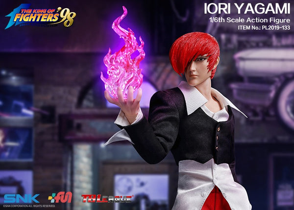 1/6 Scale The King of Fighters - Iori Yagami Figure by TBLeague