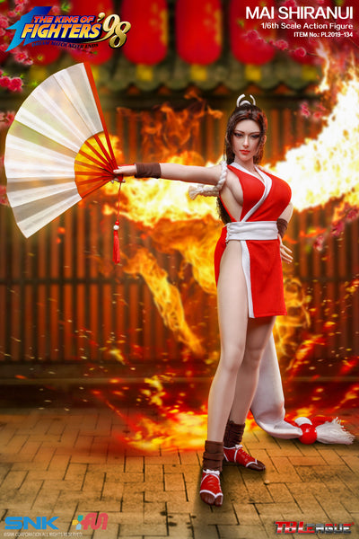 1/6 Scale The King of Fighters - Mai Shiranui Figure by TBLeague