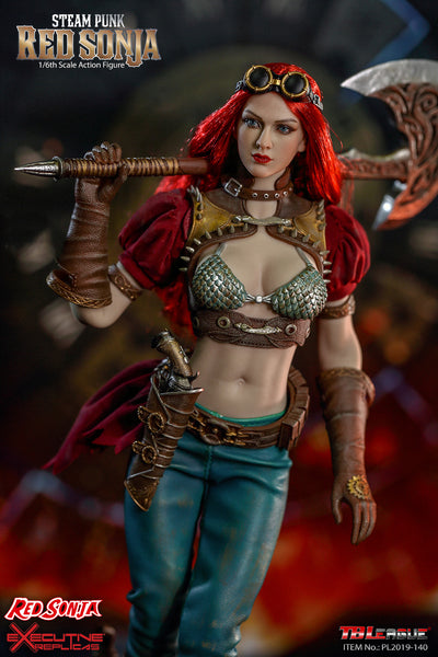 1/6 Scale Steam Punk - Red Sonja Figure (Classic Version) by TBLeague