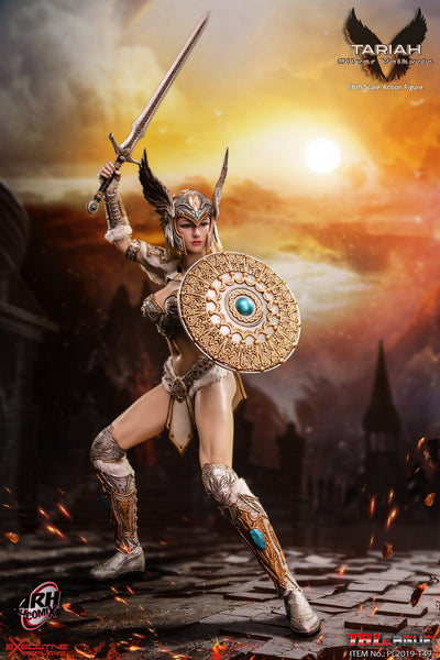 1/6 Scale Tariah, The Silver Valkyrie Figure by TBLeague