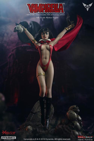 1/6 Scale Vampirella Figure (Jose Gonzalez 50th Anniversary Edition) by TBLeague