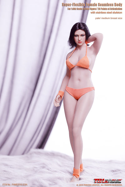 1/6 Scale Buxom Women Super-Flexible Seamless Body (PL-MB2019-S28A-S29B) by TBLeague