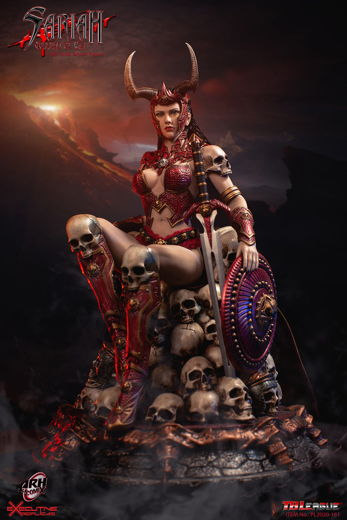 1/6 Scale Sariah, the Goddess of War Figure by TBLeague