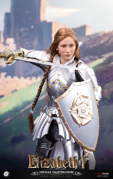 1/6 Scale Queen Elizabeth Figure (Deluxe Version) by Pop Toys