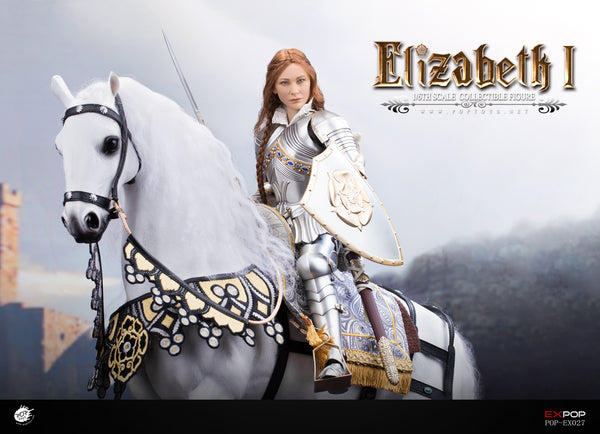 1/6 Scale Queen Elizabeth Figure (Deluxe with War Horse Version) by Pop Toys